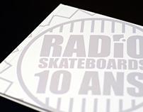 Radio skateboards book