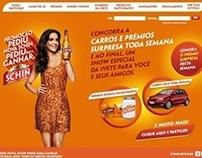 Hotsite - Pediu Nova Schin, Pediu Para Ganhar