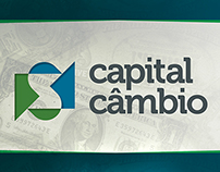 Capital Câmbio - Banner and Invitation Card