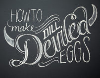 How To Make Dill Deviled Eggs
