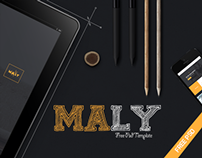 Maly Free Psd Template