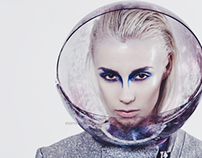 Space Shoot for FASH!NSPO magazine