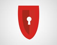 Logotipo y papeleria Defcom Servidores