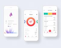 Mobile Login & Dashboard