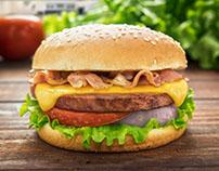 Fotografías hamburguesa - Pastel de Carne