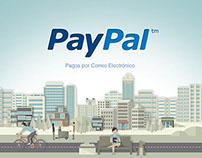 PayPal - Tutarial - Storyboard