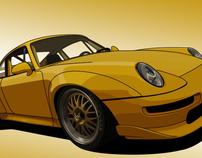 Porsche 993 GT2 Vexel