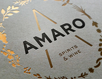 Amaro Spirits and Wine
