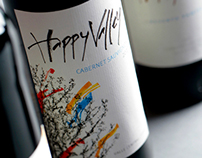 Happy Valley WIne Label