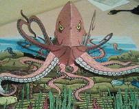Pop-up octopus