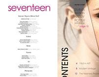 Seventeen Magazine - Redesign