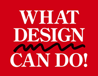 What Design Can Do! Filmfestival trailer