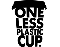 ONE LESS PLASTIC CUP