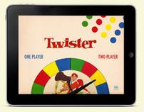 Vintage Twister Game Ipad App