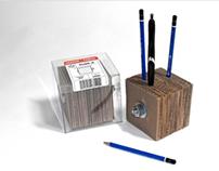 Stabb-It pencil holder