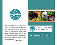 Trifold Brochure: Animal Charity Evaluators