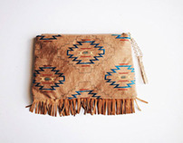 The Resort Collection - Navajo Inspired Clutch
