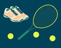 Infografika: ile kosztuje wychowanie tenisisty