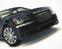 Chrysler 300 S, 3d model