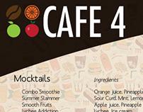 Cafe 4 Menu