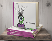 My Daily Monsters Book Jacket Design (Student Work)