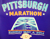 Pittsburgh Marathon Shirt Design 2014