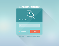 License Tracker - User Interface Design