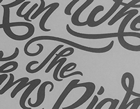 Typography Lyrics