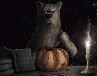 Bears Can't Carve Pumpkins