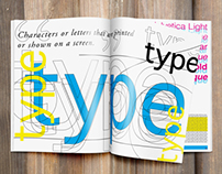Typographic Magazine || TYPE
