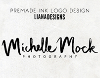 Premade and Custom Ink Logos