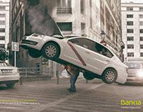 Campaña Gráfica Bankia.