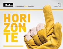 Parker - Projeto Gráfico Revista Horizonte