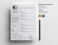 Professional Resume V.2