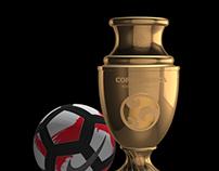 Pack Copa America 3D Model