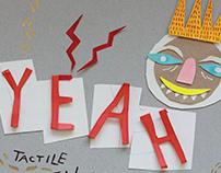 YEAH! | Tactile poster design