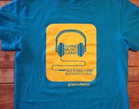 Shine Music Camp T-shirt Design