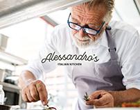 Alessandro's Italian Kitchen Branding