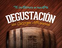 Flyer Kalbermatter Degustación / 2013