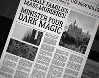 Wizard Newspaper(FREE AFTER EFFECTS PROJECTS)