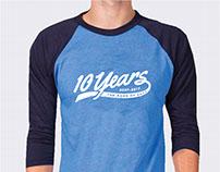 Bank of San Antonio 10 Year T-shirts