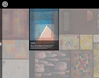 Borne intéractive - Exposition Paul Klee