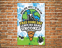 Ben & Jerry's Free Cone Day Campaign | 2014