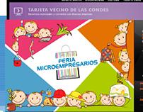 Banners para sitio web de Las Condes