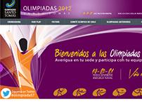 Olimpiadas Santo Tomás 2012