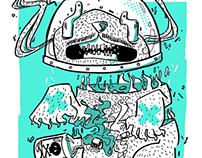 Psilocina | Afiche de concierto