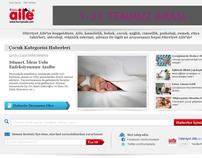 Landing Page Design - HurriyetAile.com