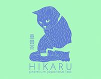 Hikaru Tea - branding / packaging / website