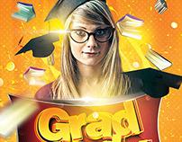 Grad Party Flyer
