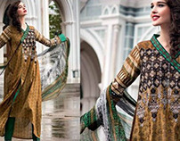 Normal Embroidered Lawn by Gulahmed